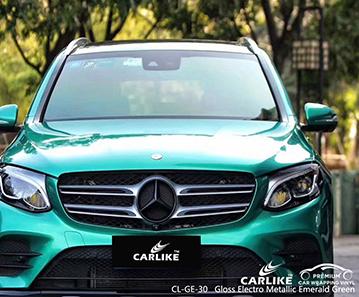 Adesivo per carrozzeria completo CL-GE-30 lucido elettro metallizzato verde smeraldo per MERCEDES-BENZ