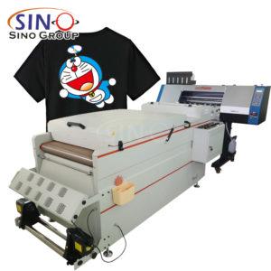 60CM A2 DTF Yazıcı Doğrudan Film Tekstil Tişört Baskı Makinesine